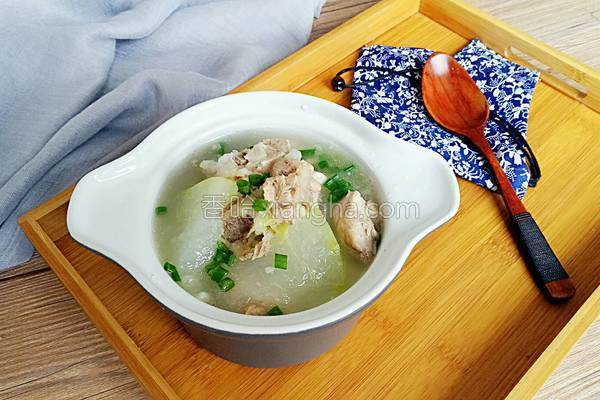 冬瓜猪骨汤的做法