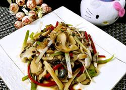 超级美味的凉拌海螺