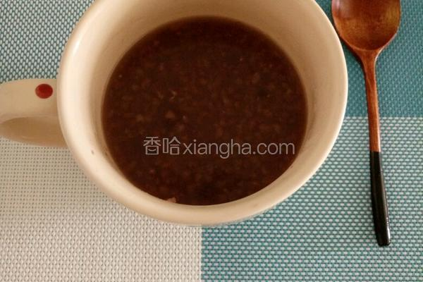 红豆糙米粥