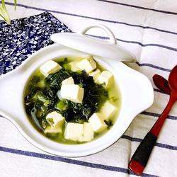 雪菜豆腐汤