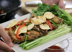 超级好吃的炸土豆片虾
