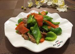 肉炒青红椒