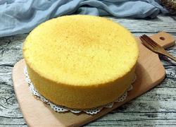 胡萝卜戚风蛋糕(八寸)
