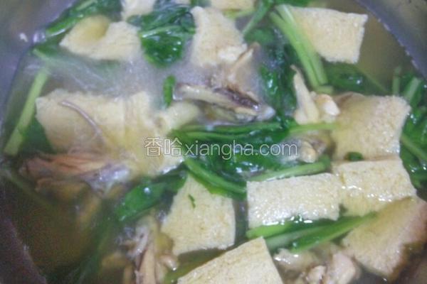 美味白菜汤