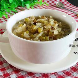 绿豆大米粥的做法[图]