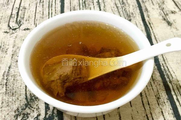 石斛麦冬水鸭炖汤