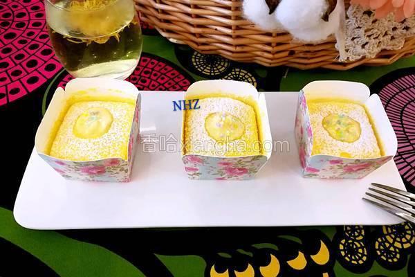 榴莲北海道纸杯蛋糕