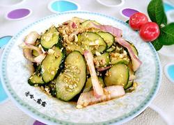 芝麻黄瓜拌洋葱
