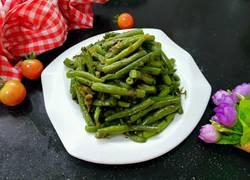 咸菜炒四季豆