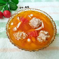 海鲜菇西红柿