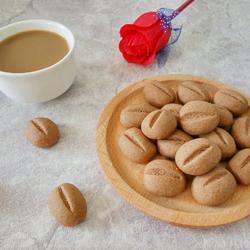 咖啡豆豆饼干