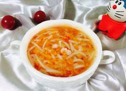 番茄鲜虾面