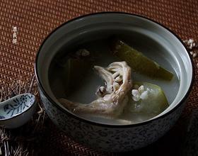 冬瓜薏米煲鸭掌[图]