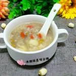 冰糖银莲绿豆粥的做法[图]