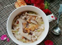鲜菇油渣汤