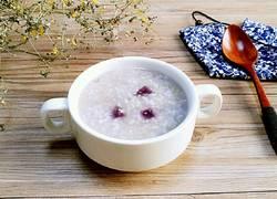 紫薯双米粥(宝宝辅食)
