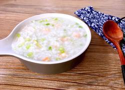 鲜虾香芹粥