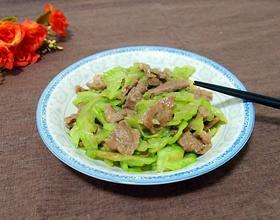 苦瓜炒牛肉