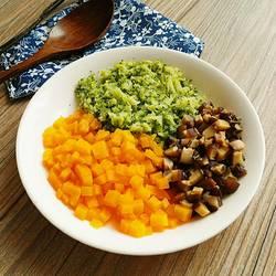 三色蔬菜拼盘