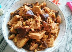 肉末香菇炖豆腐
