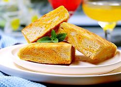 蛋黄千层饼