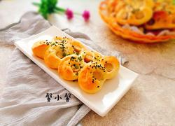 葱香芝麻火腿面包