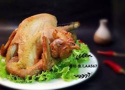 电饭锅版盐焗鸡