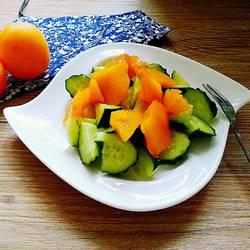 黄杏拌黄瓜