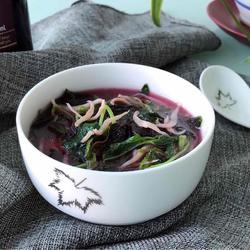 银鱼苋菜汤的做法[图]