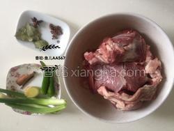 羊肉汤的做法图解1