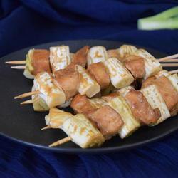 葱香鸡肉串