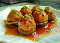 藕丁鲜肉酿香菇