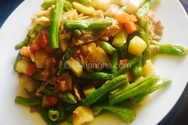 芸豆烧土豆(超级简单)