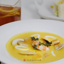 马赛南瓜海鲜风情浓汤