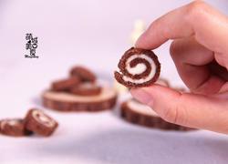 迷你巧克力吐司卷