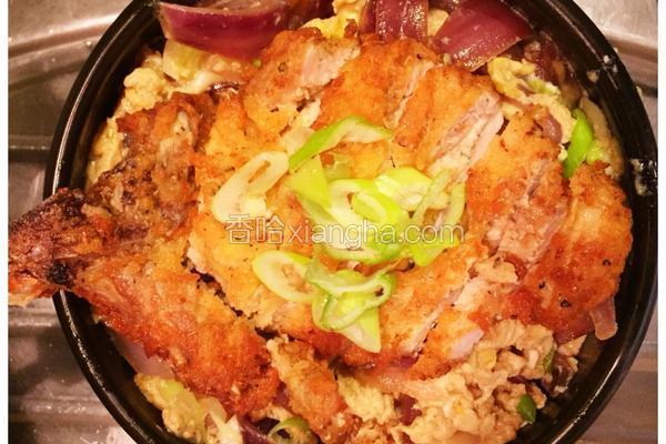 日式炸豬排丼