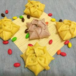 彩色苋菜八角包