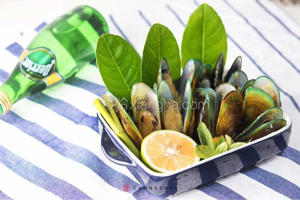 柠檬香茅蒸贻贝