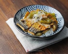 味增青花鱼饭[图]