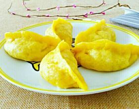 东北玉米面大蒸饺