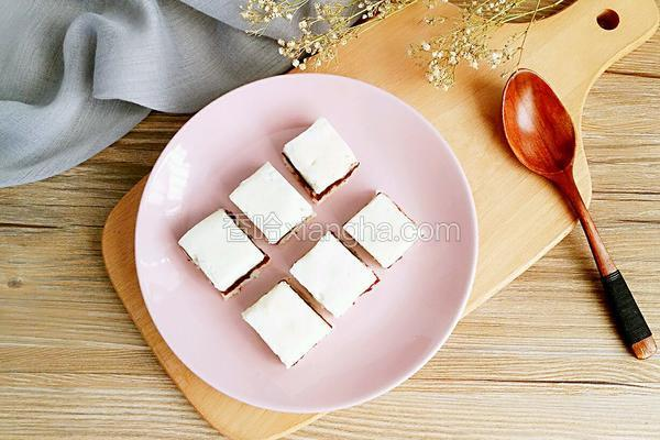 豆沙山药糕