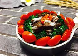 轻煎牛肉沙拉