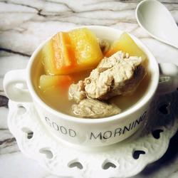 木瓜猪骨汤的做法[图]