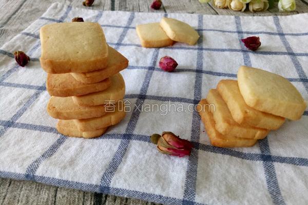 炼乳饼干的做法