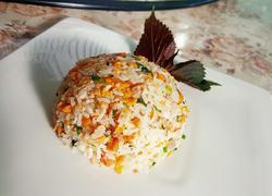 鲜虾海胆饭