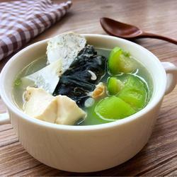 丝瓜豆腐鱼头汤