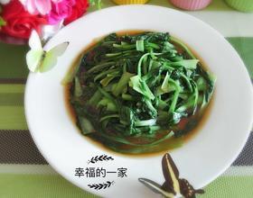 减肥谱--蚝油青菜
