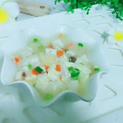 豆腐羹汤的做法[图]