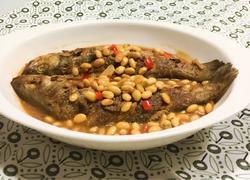 黄豆酱海鲈鱼