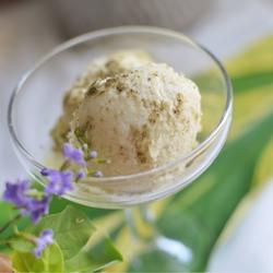一花一世界 简单极致的榴莲冰淇淋